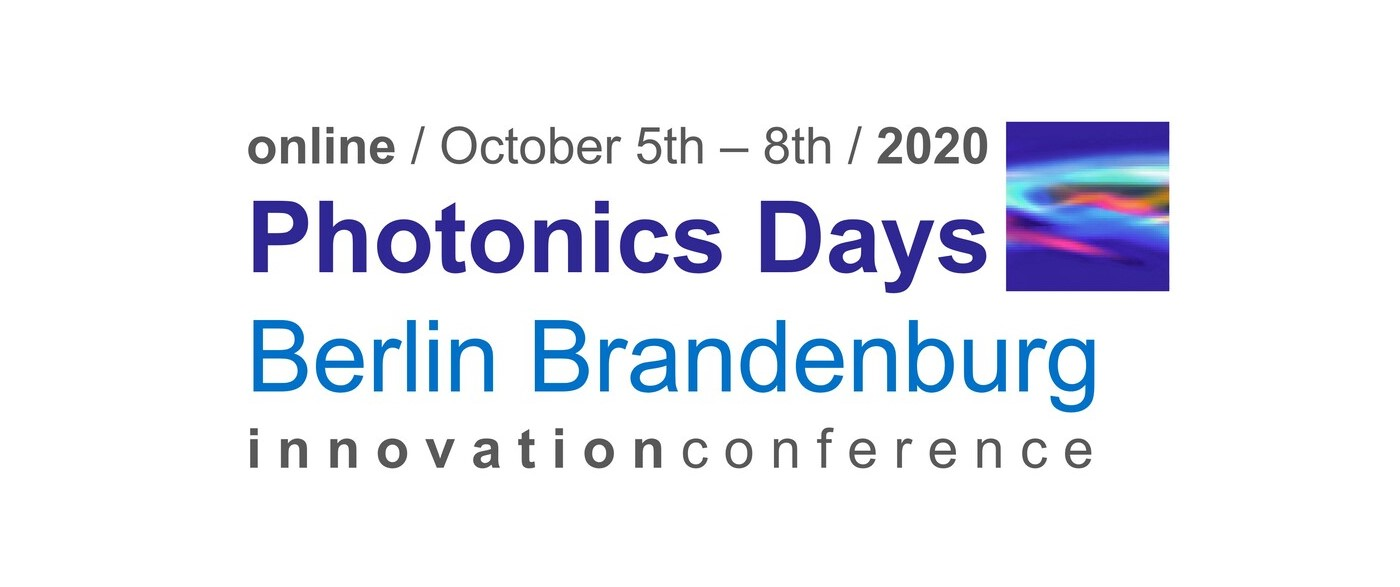 Photonics Days 2020 Berlin Brandenburg